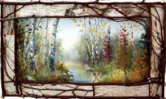 River Birch Picture Frames